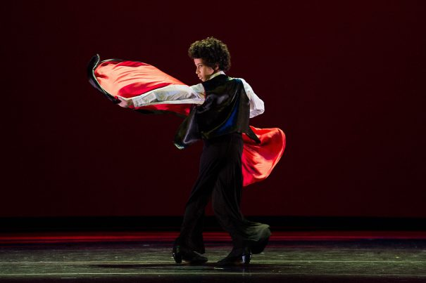 Yes, capes! Photo by Christopher Duggan for Ballet Hispanico