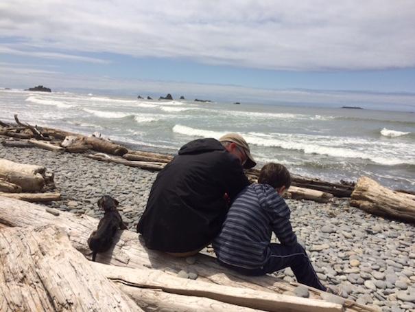 boy-dad-dog-beach-allison-sutlcliffe