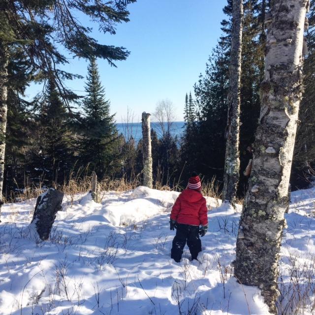 north shore snowshoe