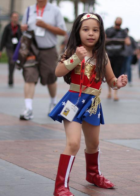 wonder woman superhero girl