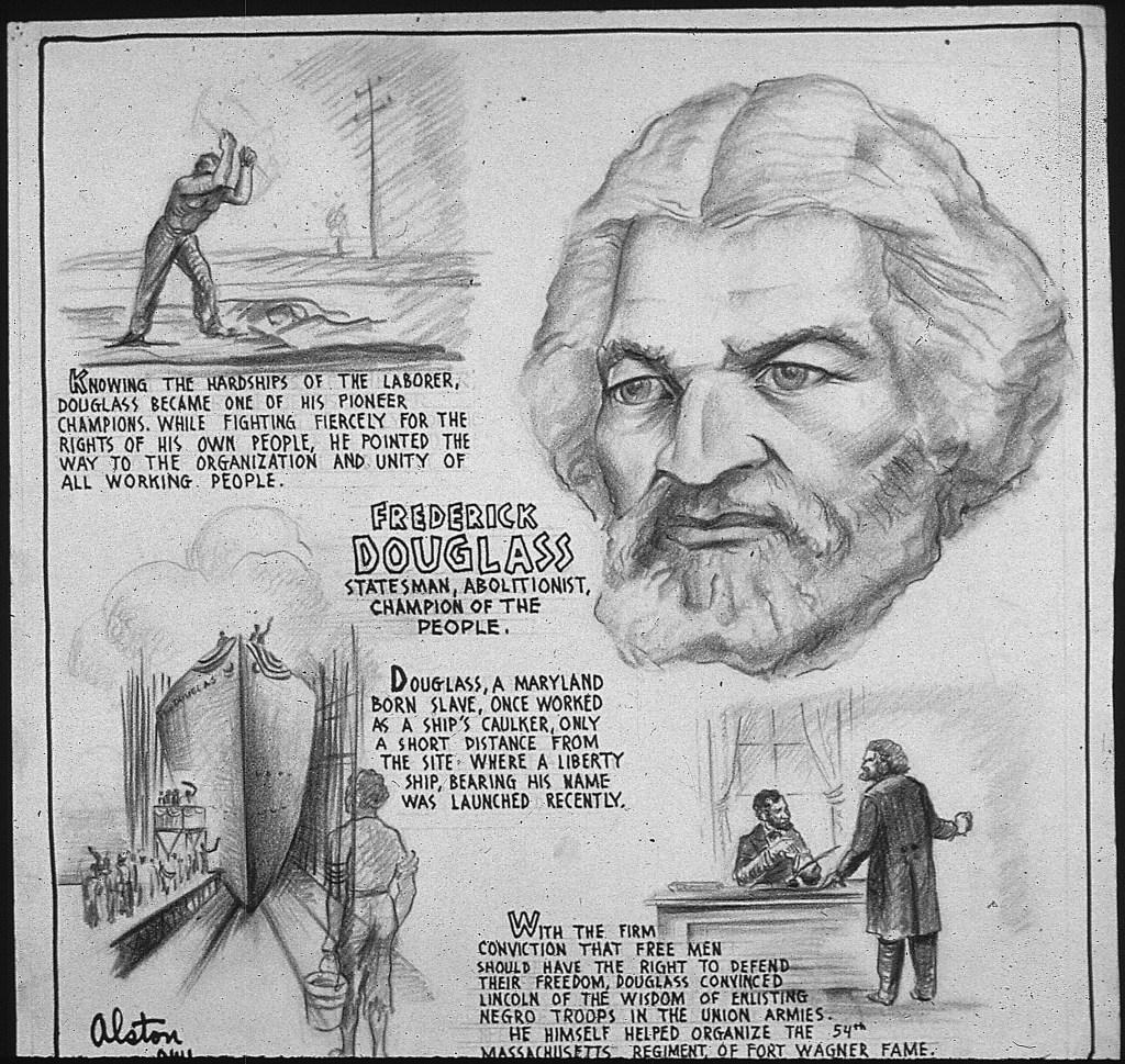 frederick_douglass _-_ estadista_abolicionista_campeón_ del_ pueblo _-_ nara _-_ 535673