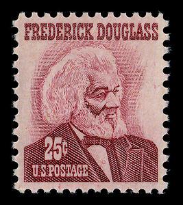 sello postal de frederickdouglass