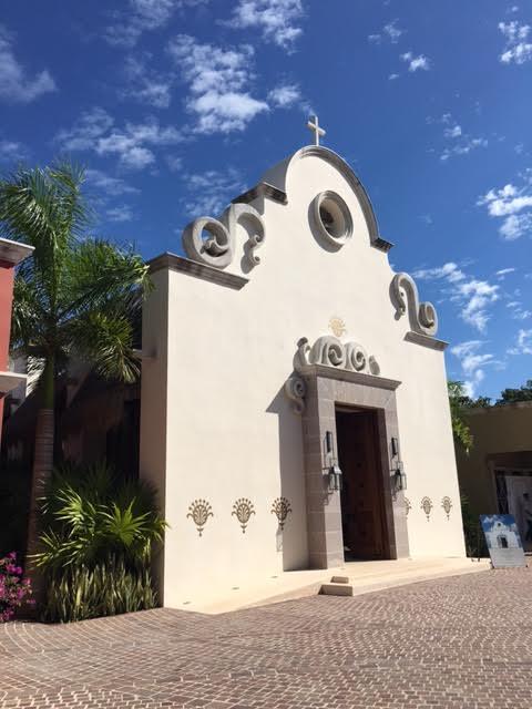 mayakoba-church