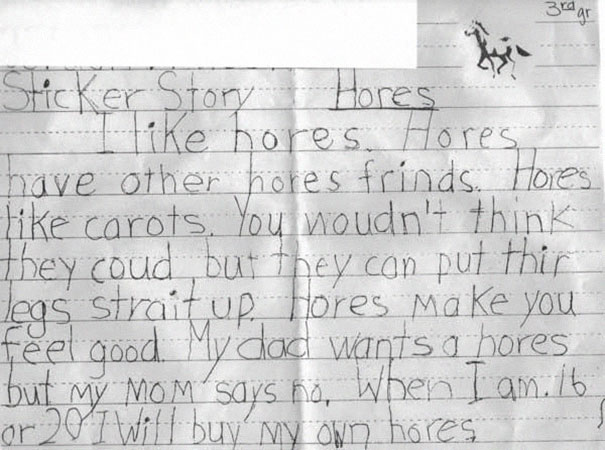 spelling-mistakes-horse