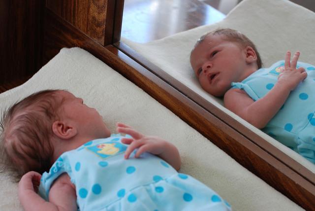 espejos gemelos