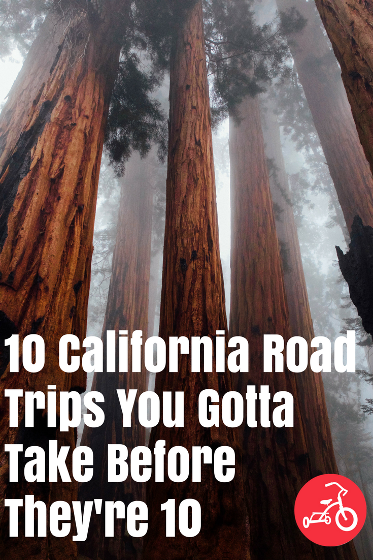 California road trips