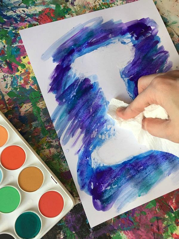 letter paint