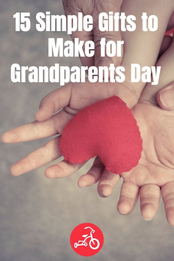 15 Simple Gifts To Make For Grandparents Day