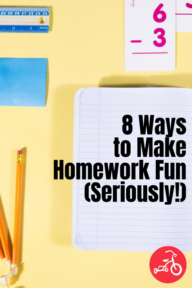 8 Ways to Make Homework Fun (Seriously!)
