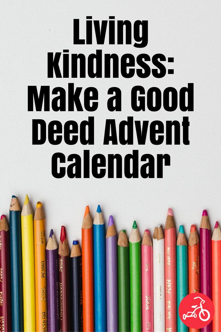 good deed advent calendar