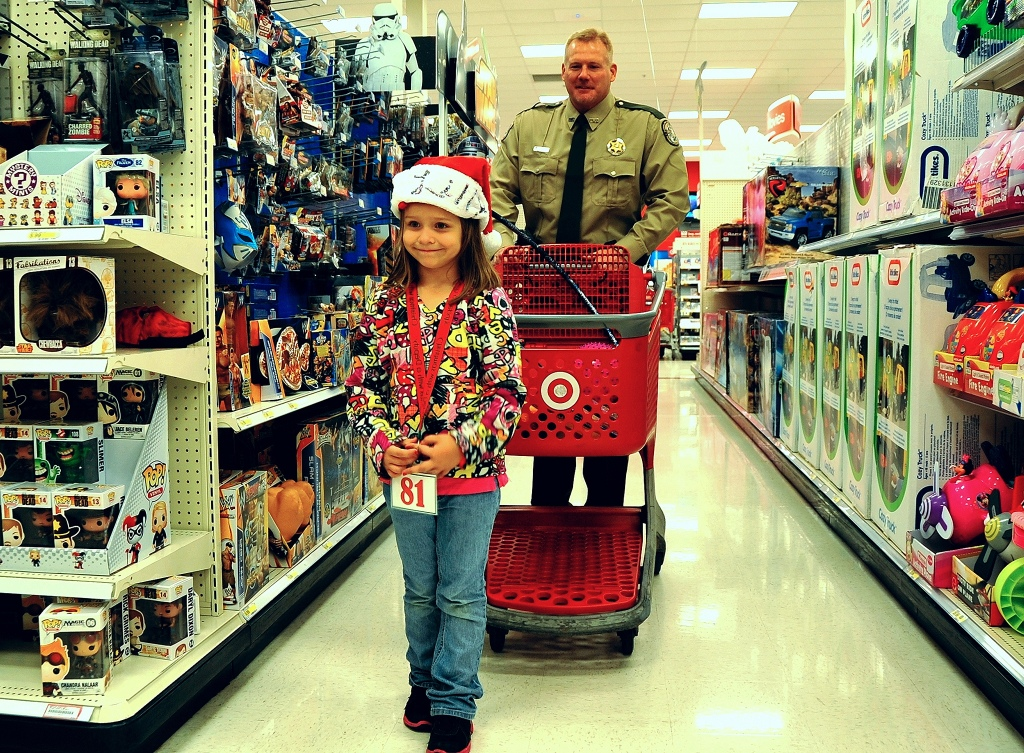 holiday traditions, secret santa, shopping at target
