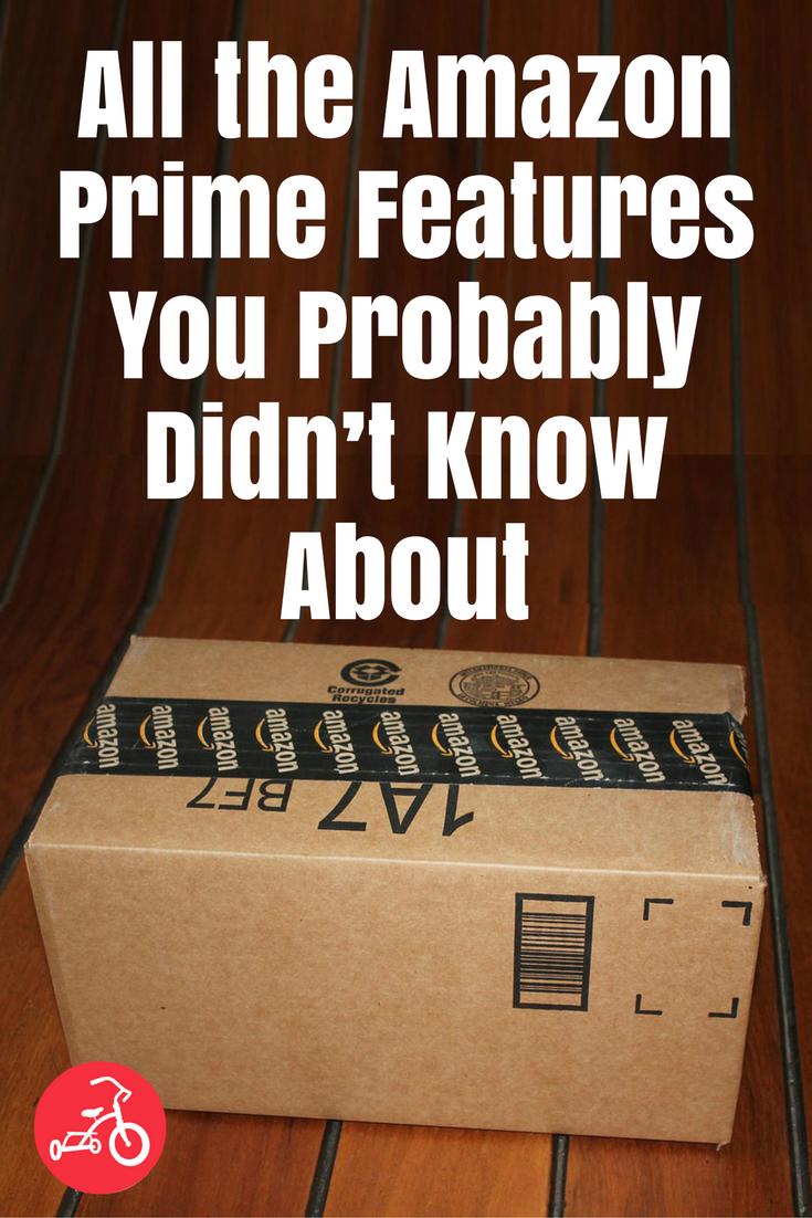 amazon prime features