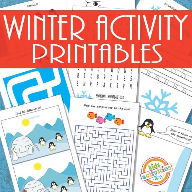 38 Totally Free Activity Sheets For Kids
