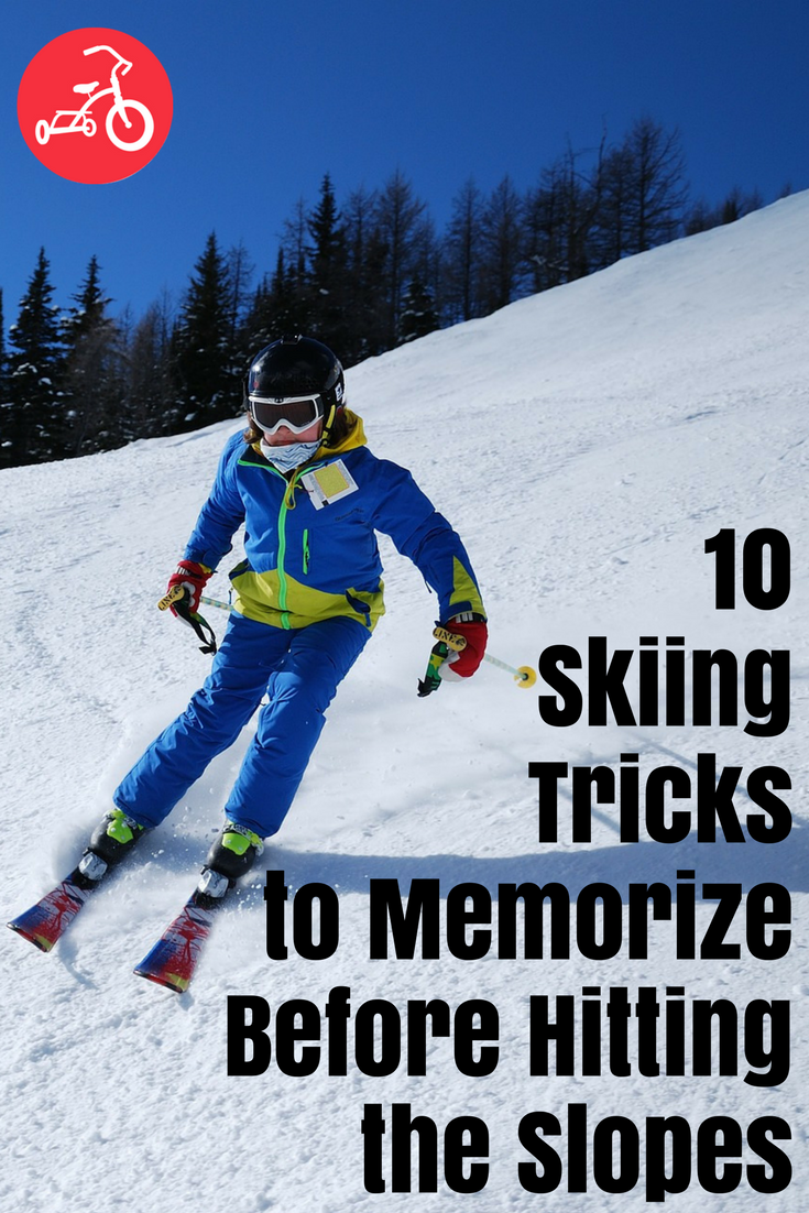 skiing tricks
