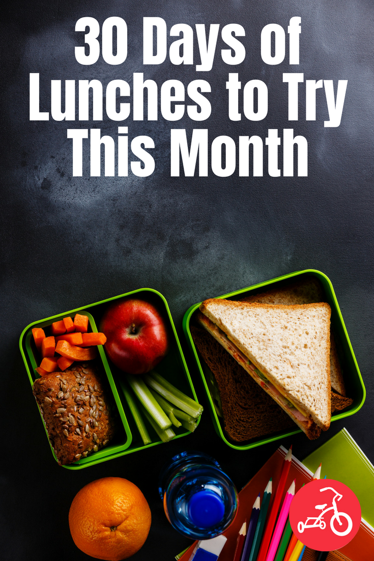 30 Days of Lunches to Try This Month