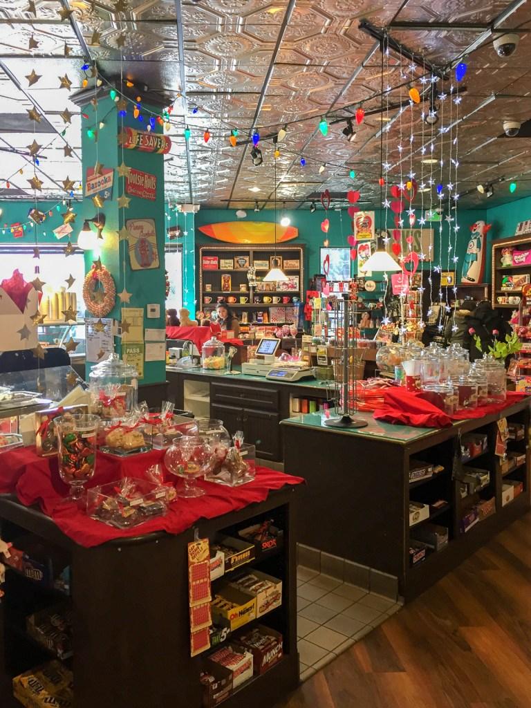 Retro Sweets Shoppe by Anita Chu