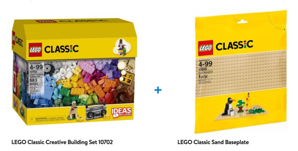 Walmart LEGO