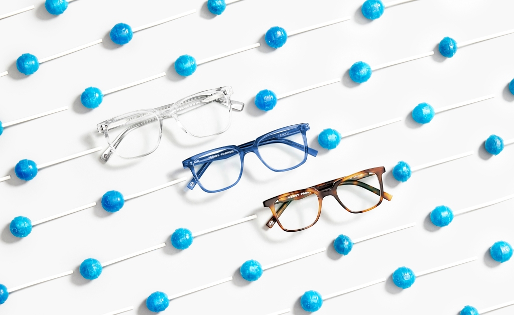 Línea infantil Warby Parker