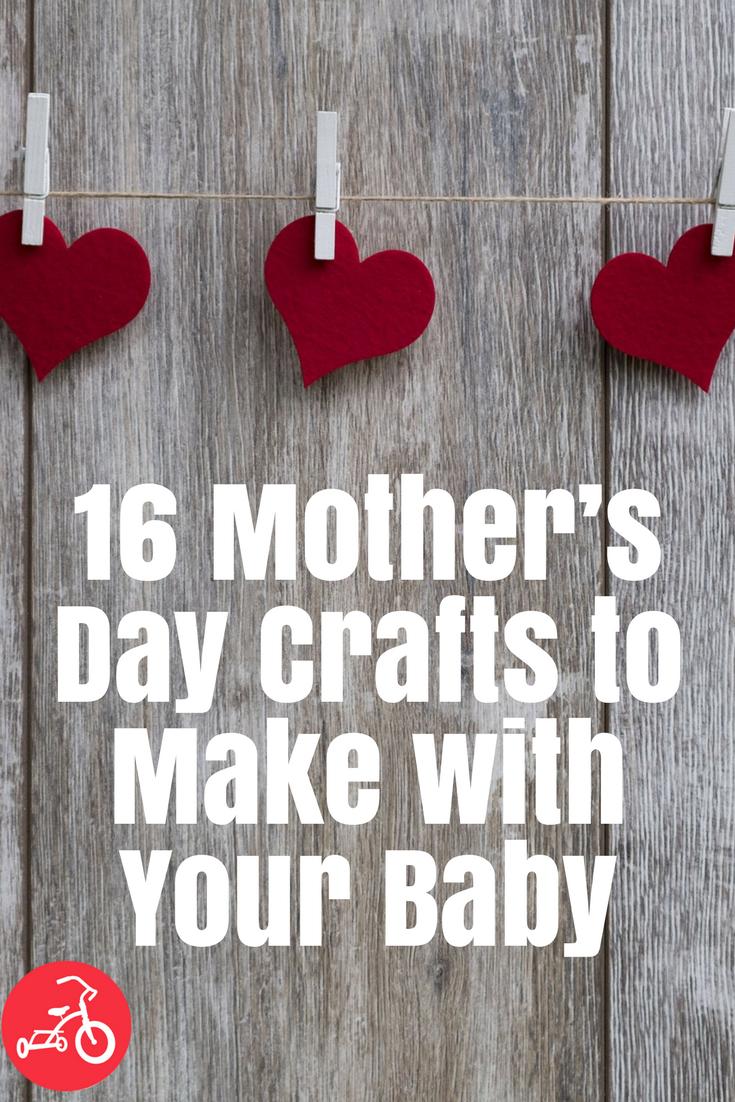 16 manualidades del día de la madre para hacer con su bebé