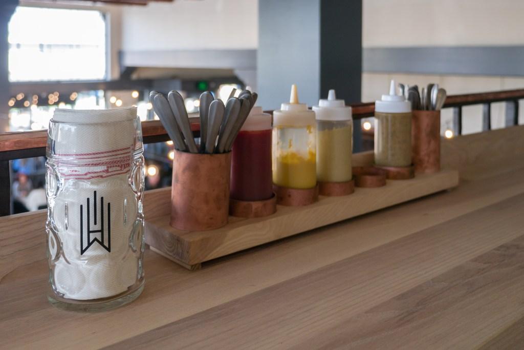 Wursthall Condiments by Anita Chu