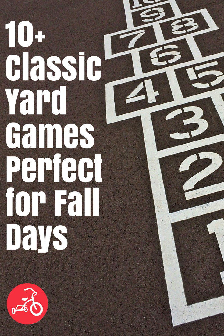 10+ Classic Yard Games Perfect for Fall Days