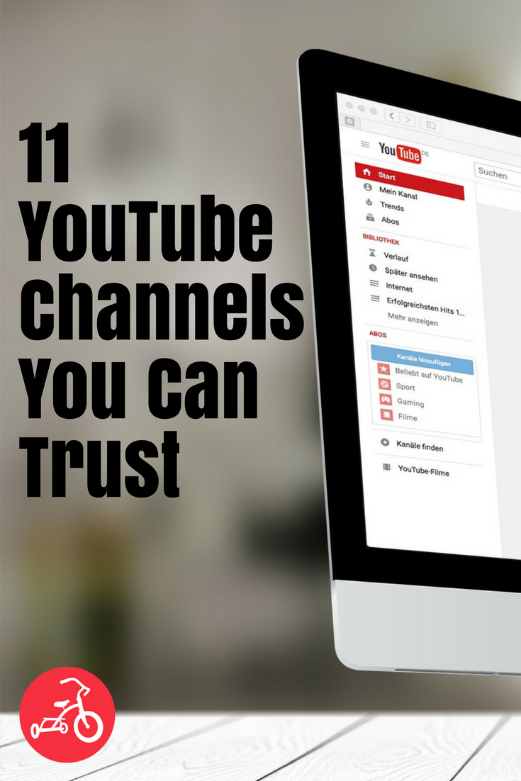 11 YouTube Channels You Can Trust