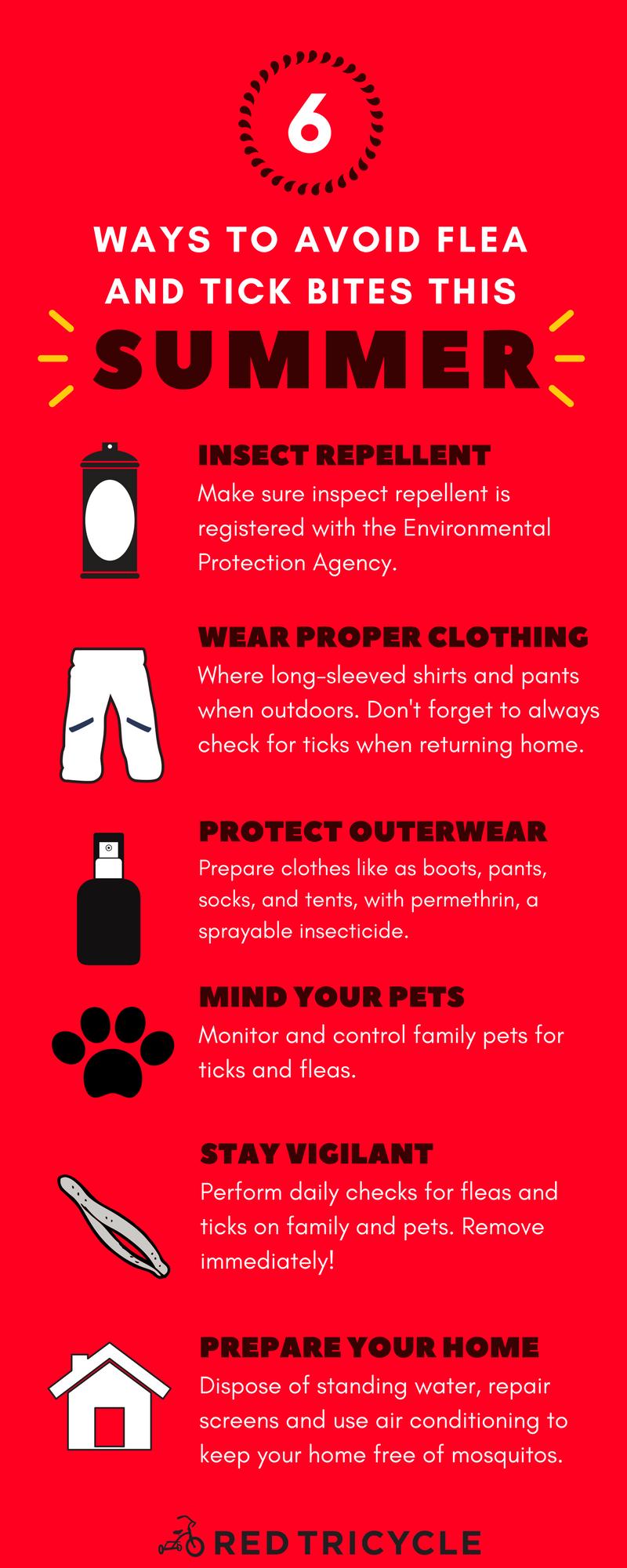 6 ways to avoid flea and tick bites this summer