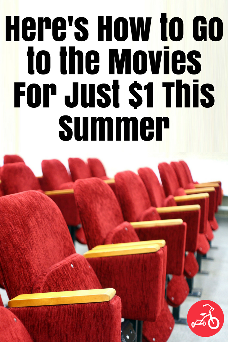 Here's How to Go to the Movies For Just $1 This Summer