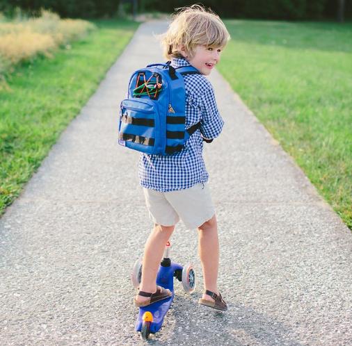 Kids Nylon School Backpack Children Boys Girls Primary Travel Bag Rucksack