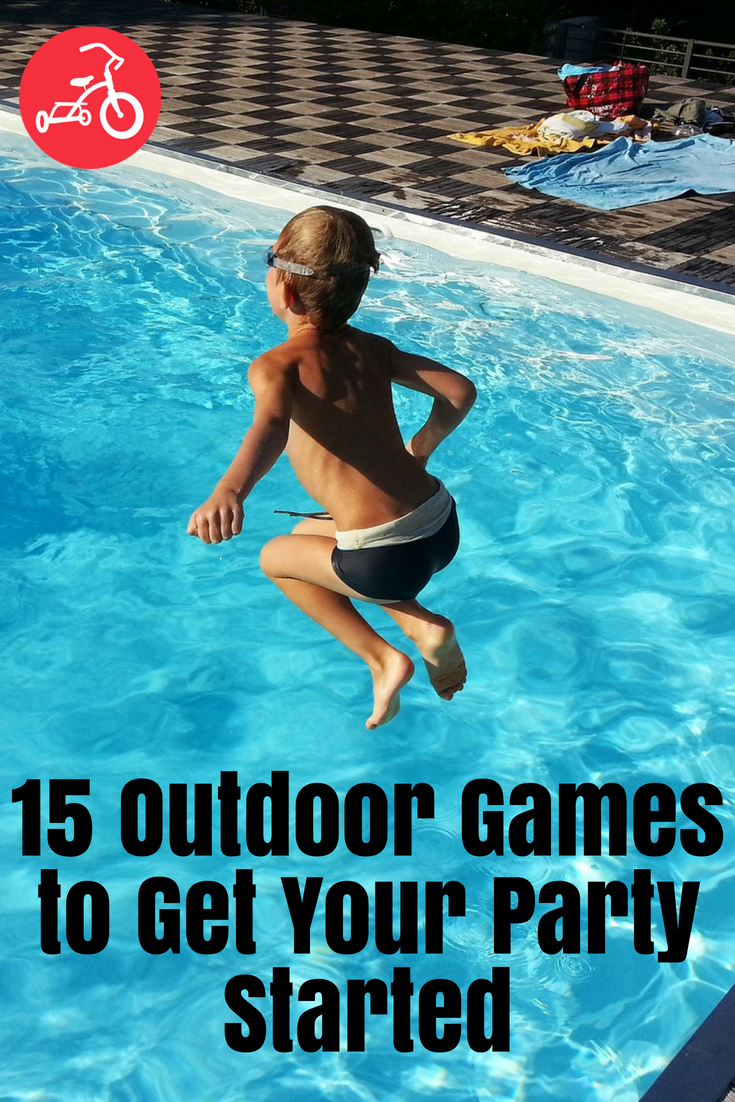 15 Outdoor Games to Get Your Party Started