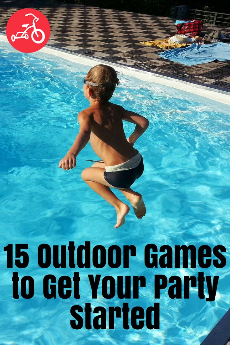 15 juegos al aire libre para comenzar tu fiesta