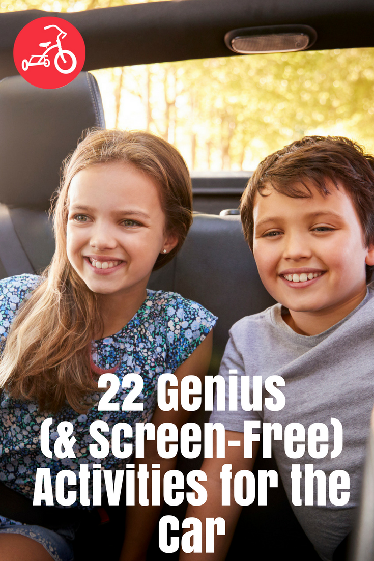 22 Genius (& Screen-Free) Activities for the Car