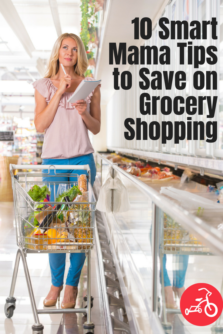 10 Smart Mama Tips to Save on Grocery Shopping