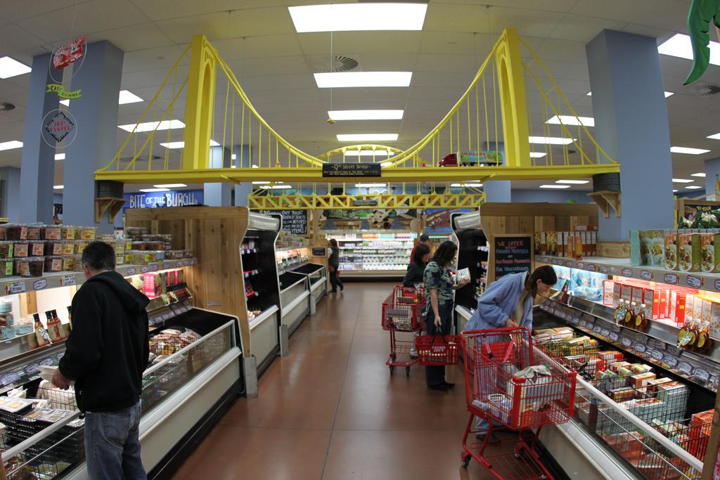 Trader Joe's freezer section