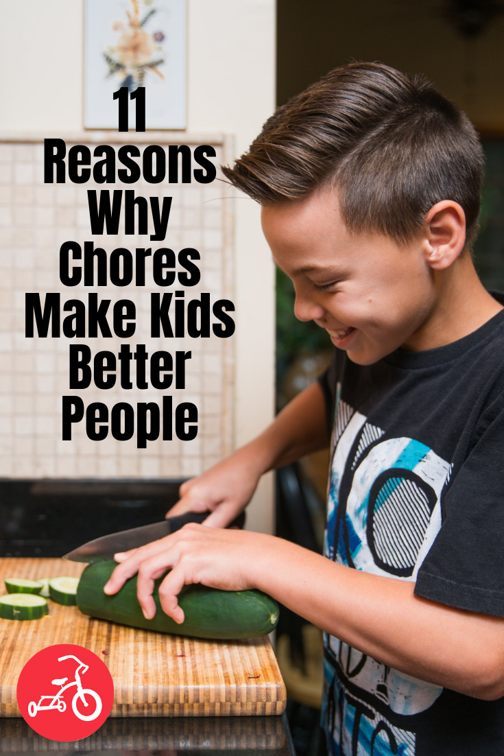 11 Reasons Why Chores Make Kids Better People