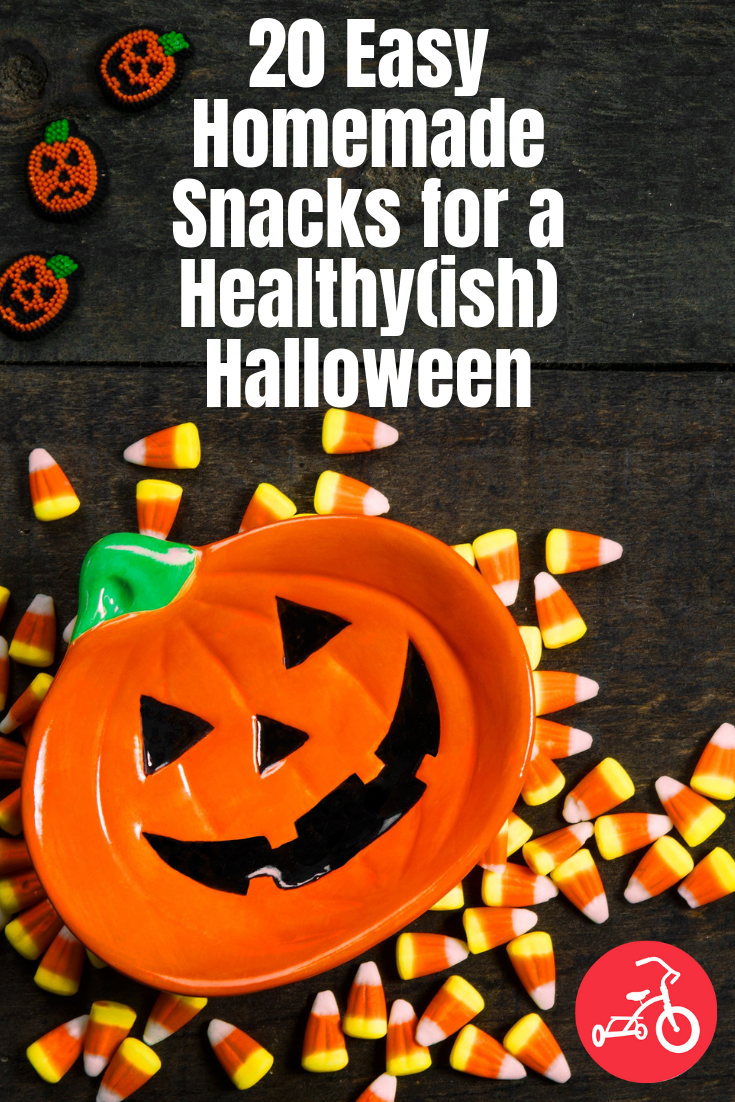 20 Easy Homemade Snacks for a Healthy(ish) Halloween