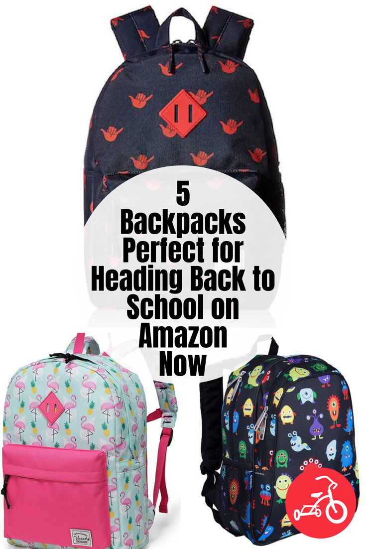 5 Backpacks Perfect for Heading Back to School on Amazon