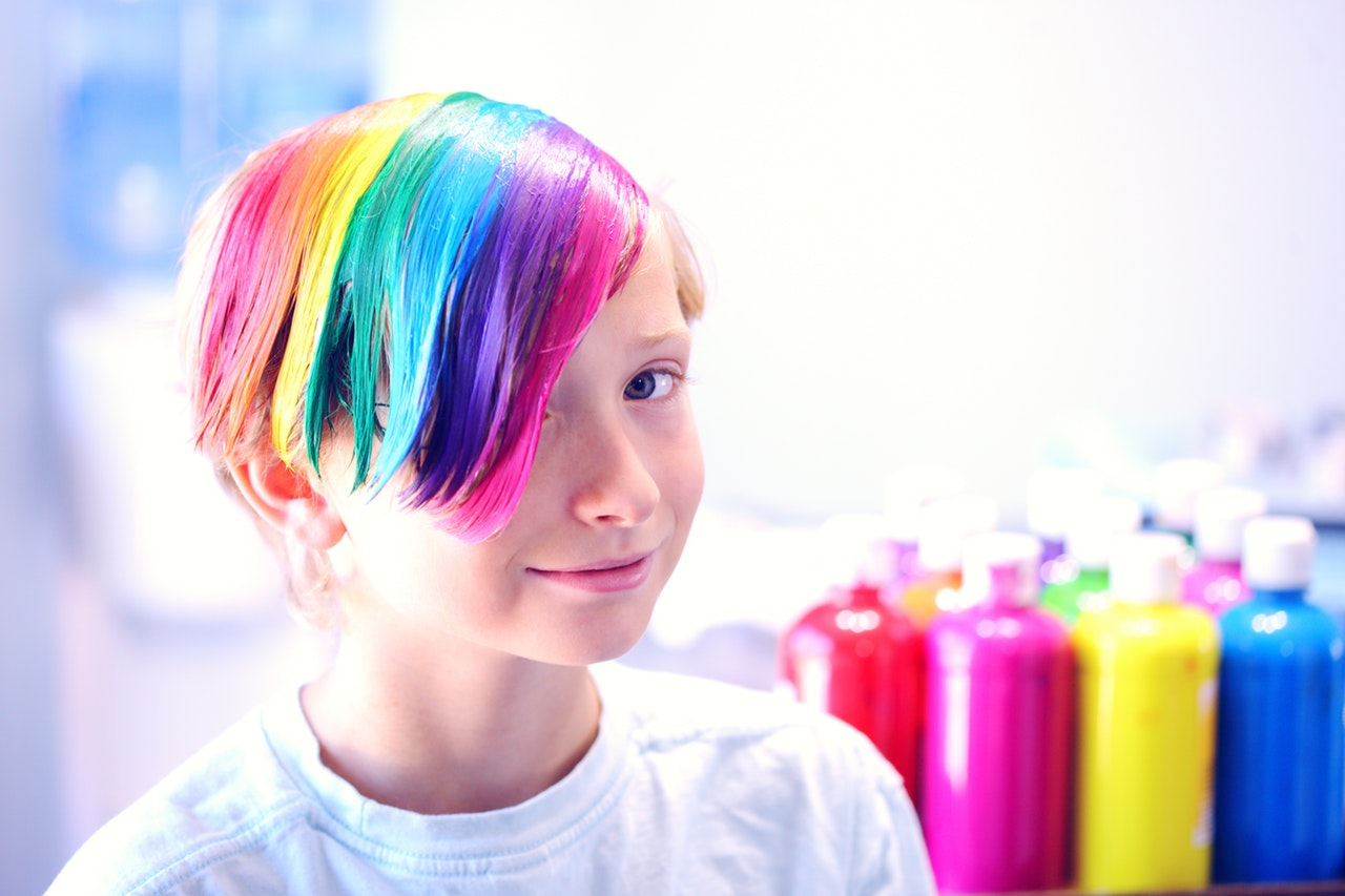 What To Consider Before Dyeing Your Kid S Hair