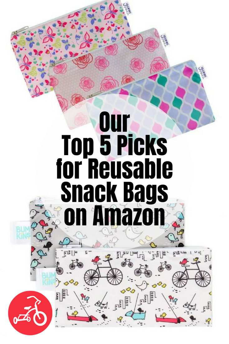 Our Top 5 Picks for Reusable Snack Bags on Amazon