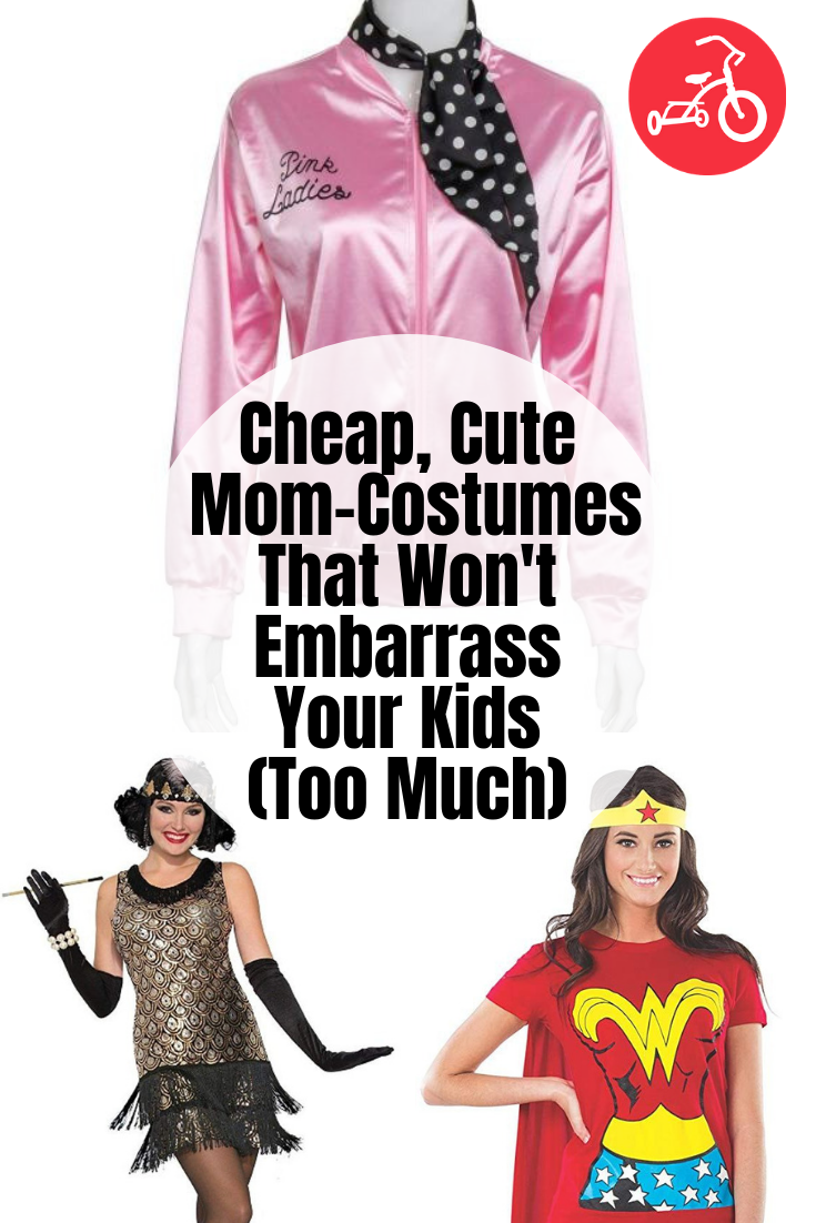Cheap, Cute Mom-Costumes That Won't Embarrass Your Kids (Too Much)