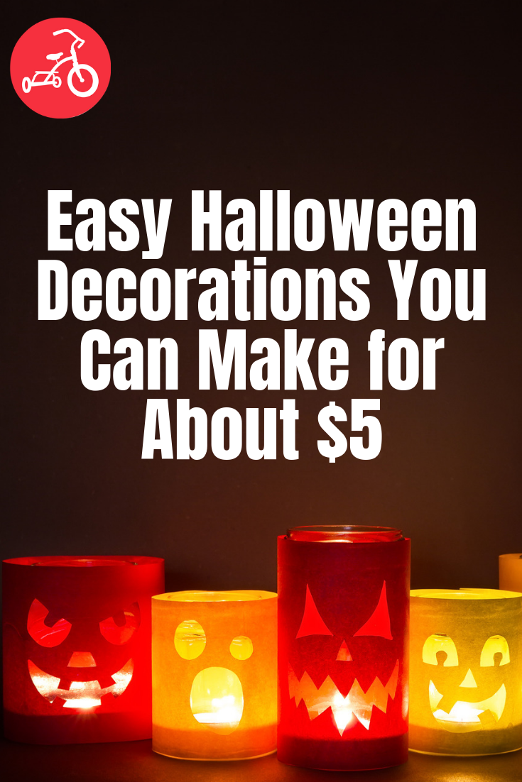 Easy Halloween Decorations You Can Make for About $5