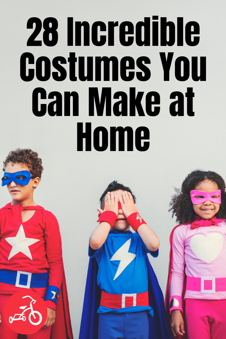 28 Incredible Costumes You Can Make at Home