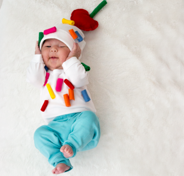Baby Boo 11 Diy Baby Halloween Costumes Made With A Onesie