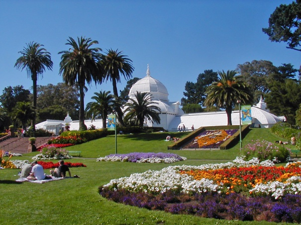 free day at the conservatory of flowers march 5