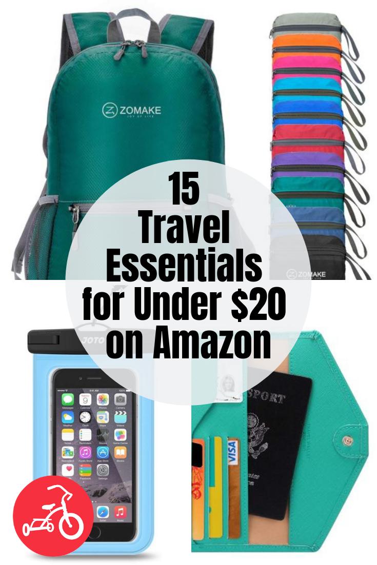 15 Travel Essentials for Under $20 on Amazon