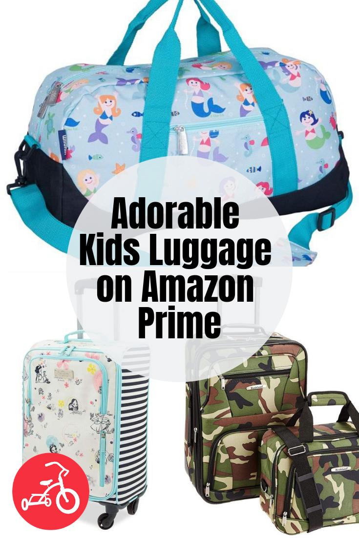 Adorable Kids Luggage on Amazon Prime