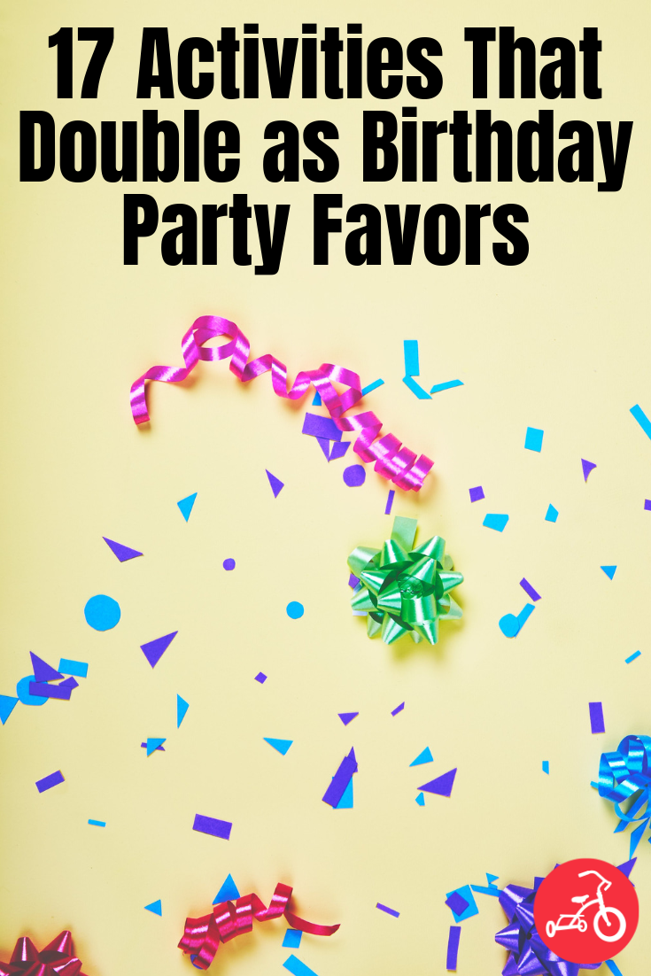 17 Activities That Double as Birthday Party Favors Pinterest image