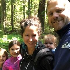 family selfie travel