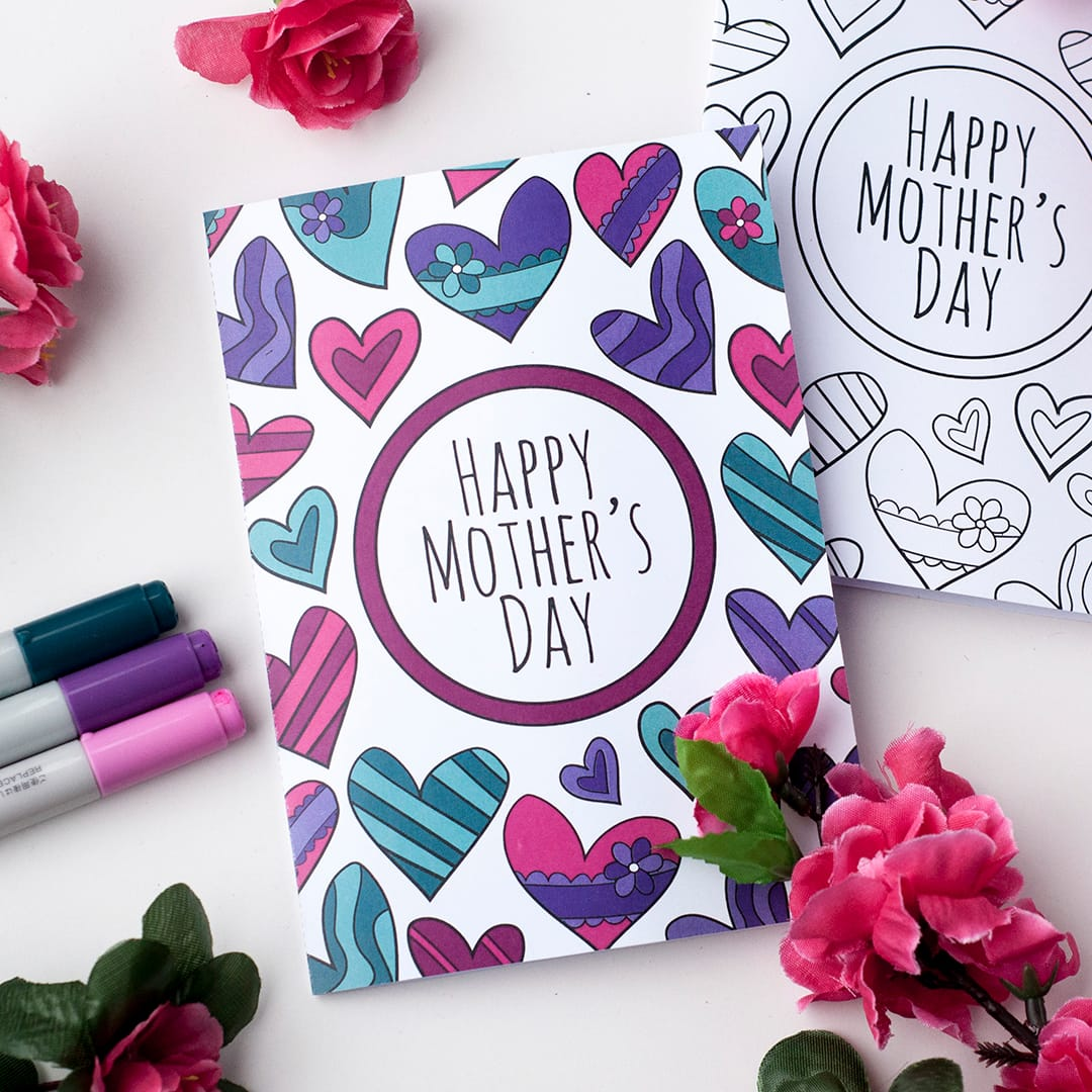 22 homemade mother's day cards every kid can make