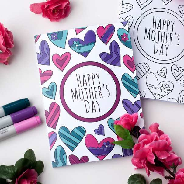 23 homemade mother's day cards every kid can make